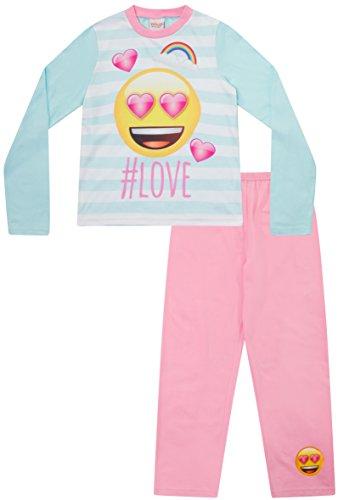 Teenage Girls Long Pyjamas Emoji Style DO NOT Disturb Pjs