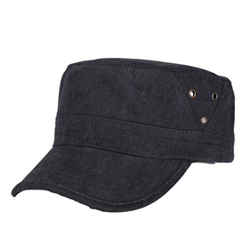 UFACE Retro Hut der Männer Herren Baseballmütze Fashion Shopping Radfahren Ente Zunge Hut (Schwarz)