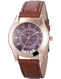 Relojes Pulsera Mujer, Xinan Reloj de Pulsera de Cuarzo Reloj (Café)
