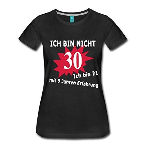 Spreadshirt 30. Geburtstag Frauen Premium T-Shirt, L, Schwarz