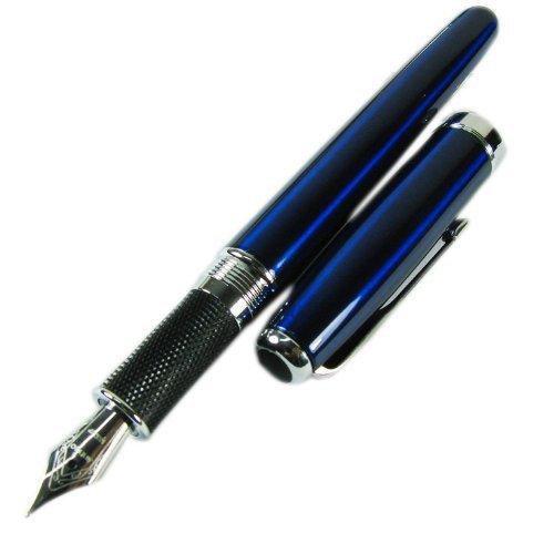 Jinhao 601 flèche boucle Bleu foncé-plume Stylo-plume Taille M