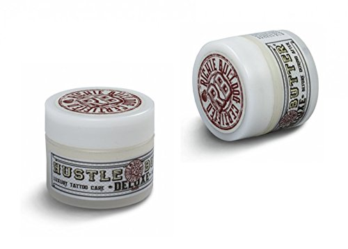 2x Hustle Butter Deluxe 1oz 30ml Tattoopflege - Aftercare Tattoo Creme Deluxe Butter