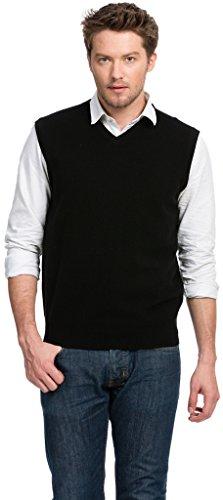 Cashmere Knit Weste (Citizen Cashmere Pullunder Herren - 100% Kaschmir (L) Blau 42 110-03-03)