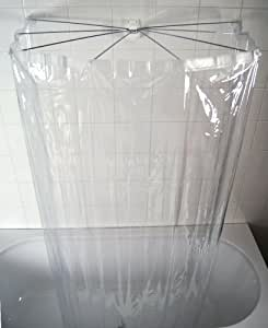 Ridder 582000 350 telaio a ombrello per doccia colore for Bastone reggitenda per doccia