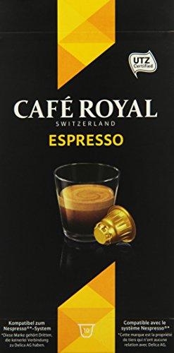Cafe Royal Espresso 10 Kapseln, 10er Pack (10 x 50 g)