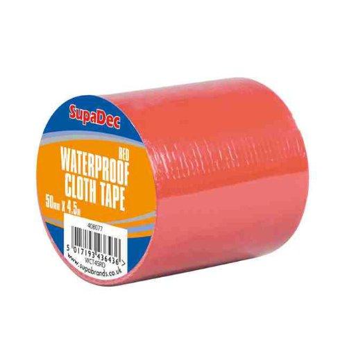 supadec-bande-impermeable-a-leau-de-tissu-48mm-x-45m-red
