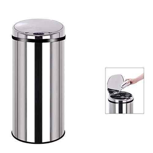 Kitchen Move BAT-42LB AS Design Originale Poubelle Sensor Automatique Inox Capacité 42 Litres