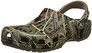 Crocs Men's and Women's Classic Realtree Clog | Comfort Slip On Camo Casual Shoe | Lig