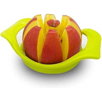 genialo Melonen-Schneider Obstscheinder Melonenpresser Melonenteiler Melonenmesser Melonenausstecher K/üchenhelfer Ananasschneider K/üchen-Gadget