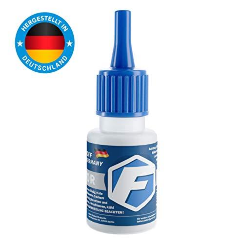 Faktor® 2K Premium Universal Kleber 20 Gramm | Extra starker Sekundenkleber mit Granulat | Allzweckkleber für Industrie & Haus - 20 Haus
