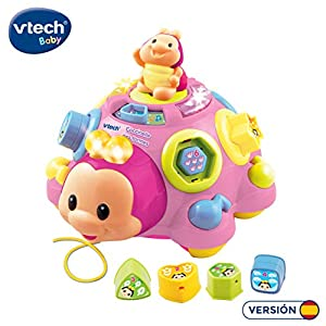 VTech - Pequepatitas, Juguete para bebé, Color Rosa (3480-111257)