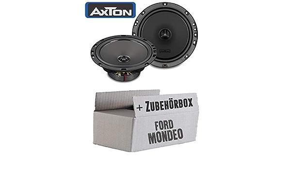 Ford Mondeo Mk4 Ba7 Front Rear Speaker Boxes Axton Atx165 16 Cm 2 Way 160 Mm Coaxial Car Installation Kit Navigation Car Hifi