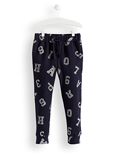 RED WAGON Pantalones de Deporte Vintage Print Niños, Azul (Blue 19-39