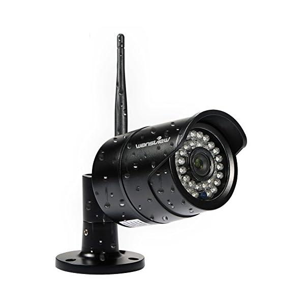 Wansview Outdoor 720P/1080P WiFi Wireless IP Security Bullet Camera