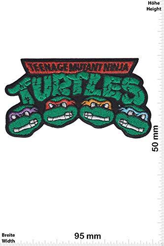 nt Ninja Turtles - 4 Head - Movie - Movie - Teenage Mutant Ninja Turtles - Aufnäher - zum aufbügeln - Iron On ()