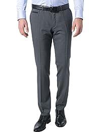 HUGO BOSS Herren Hose Pant, Größe: 94, Farbe: Grau
