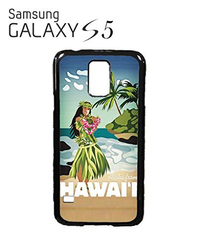 Hawaii Hula Girl Aloha Mobile Cell Phone Case Samsung Galaxy S3 Black Blanc