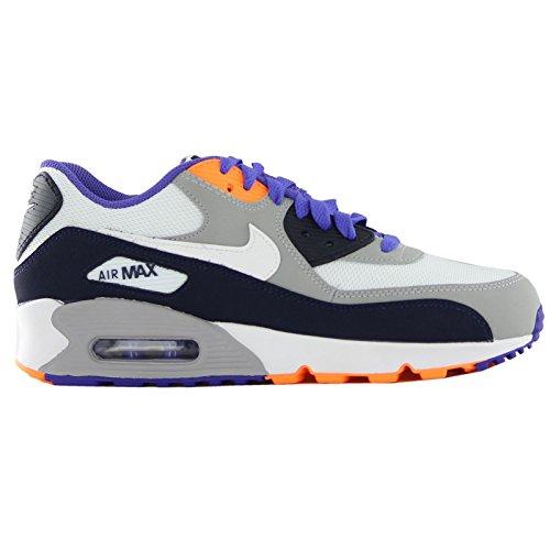 Nike Air Max 90 Mesh (Gs) Kinder Unisex Sneaker Blau