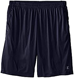 Champion Mens Big-Tall Powertrain Shorts, Navy, 3X
