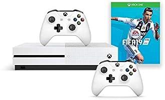 Microsoft Xbox One S 1TB Oyun Konsolu, 2 Oyun Kumandası ve FIFA2019