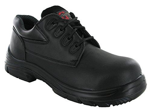 Grafters Wide EEEE Fit 4 Eye Leather Safety Steel Toe Mens Boots...