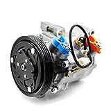 SINOCMP Auto AC Compressor 95200-77GB2 9520077GB2 Air Compressor New Air Conditioning Compressor AC Compressor Clutch Assy for Suzuki JIMNY Seiko SEIKI SS07LK10, 3 Month Warranty