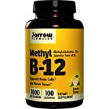 Methyl B-12 1000mcg (Methylcobalamin) 100 pastilles JR (ve