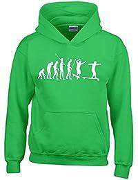 Longboard Evolution Kinder Sweatshirt mit Kapuze HOODIE Kids Gr.128 - 164 cm