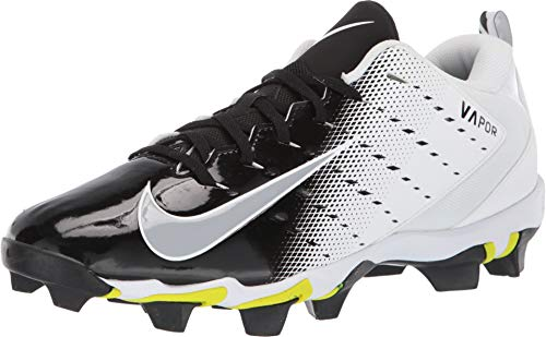 Nike Men's Vapor Untouchable Shark 3 Football Cleats - White/Black, 11.5 D(M) US