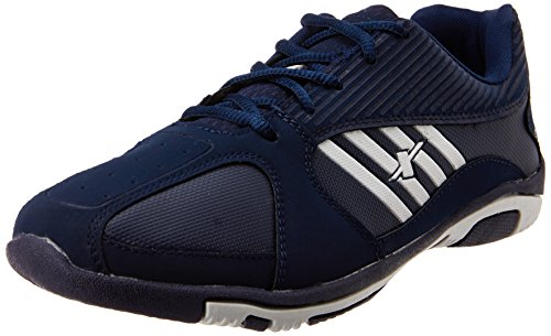 Sparx Men's Navy Blue and White Running Shoes - 6 UK/India (39.33 EU) (SX0204G)