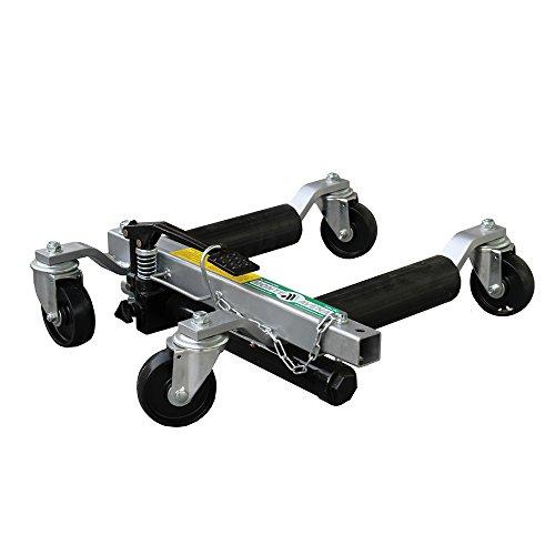Carrello cric sollevatore idraulico posizionatore auto for Carrello sposta auto