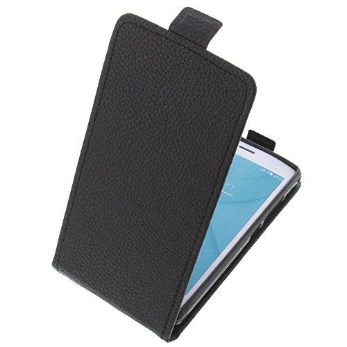 foto-kontor Tasche für Doogee X5 Max X5 Max Pro Smartphone Flipstyle Schutz Hülle schwarz