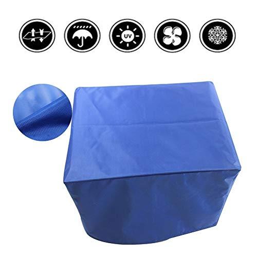 LCAIHUA Gartenmöbel Abdeckung Atmungsaktiv Terrassentischabdeckung Einfach Gefaltet Zu Werden Sitzbankbezug Im Freien UV-beständig Reißfest, 27 Größen,Blau (Color : Blue, Size : 80x30x53cm)