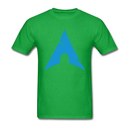 Men's Arch Linux Logo T-shirt Large