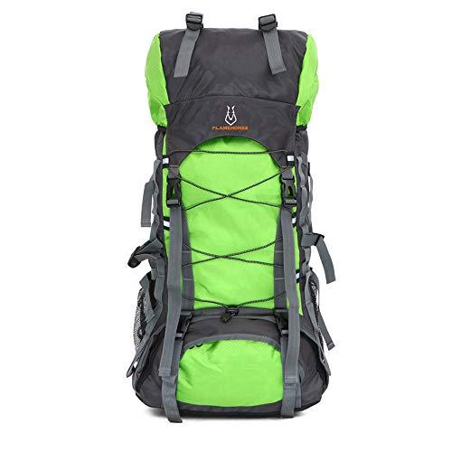 Jaszhao outdoor travel zaino outdoor sport 70l grande capacità zaino antipioggia campeggio alpinismo zaino escursionismo zaino adatto per il campeggio alpinismo attività all'aperto,e