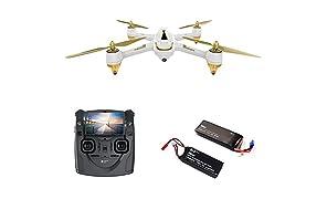 HUBSAN H501S X4 FPV - Drone con cámara, Blanco