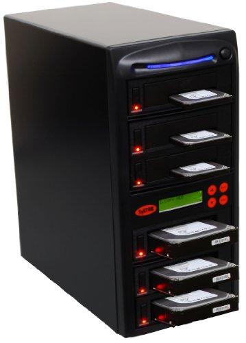 """Systor 1-5 SATA 2.5""""&3.5"""" Porta a Doppio/Sostituzione a caldo Hard Disk Drive (HDD/SSD) Duplicatore/Sanitizer"""