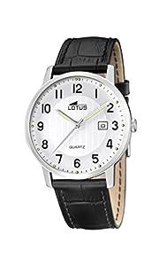 Lotus 15620/1 - Reloj de pulsera hombre, Cuero, color Negro de Lotus