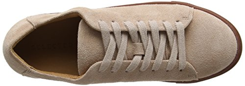 SELECTED FEMME Sfdonna Suede New Sneaker, Scarpe da Ginnastica Basse Donna Multicolore (Blush)