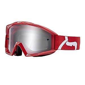 Fox Brille Main Race Glas Clear, Red, Größe OS