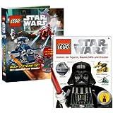 LEGO 6641278 - 6730287 Star Wars - Libro (en alemán) con conjunto de ladrillos y glosario (en alemán) con figura