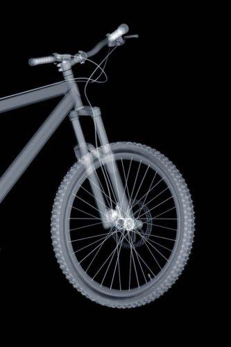 Xray Mountain Bike Notebook por Wild Pages Press