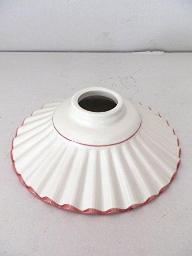 ceramica-bianca-bordo-rosa-antico-di-ricambio-per-applique-e-lampadari-ferro-e-ottone-20-cm