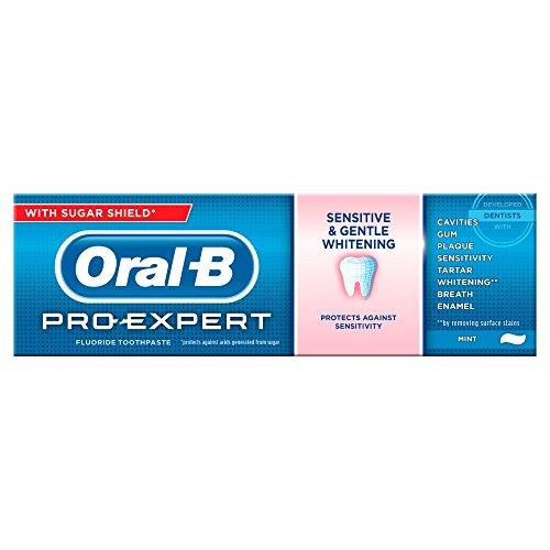 ORAL-B Pro Expert Sensitive Gentle Whitening Toothpaste - Oral-b-fluorid