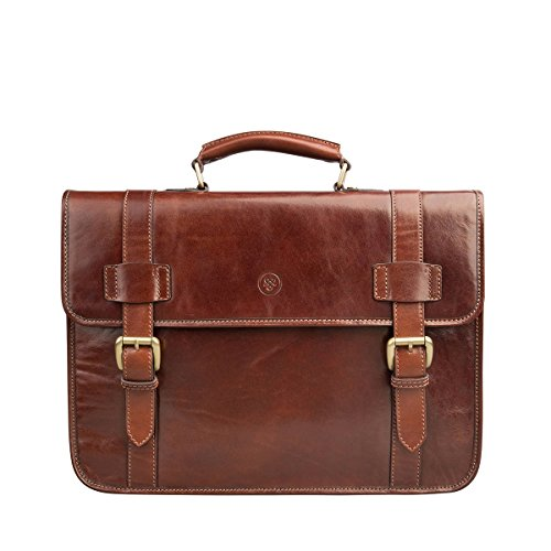 Maxwell-Scott-PERSONALISED-Mens-Leather-Backpack-Briefcase-Micheli