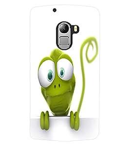 ColourCraft Funny Frog Design Back Case Cover for LENOVO A7010