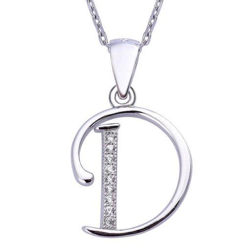 viki-lynn-sterling-silber-925-kette-halskette-mit-silber-und-zircon-buchstabe-alphabet-d-anhaenger