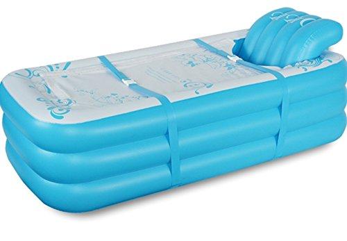 HCJCQYG FJXLZ® Aufblasbare Badewanne Thicker Adult Tub Fold Kunststoff 165 * 88 * 60cm 5,25 Kg Dickere Isolierung Zusammenklappbar Badewanne