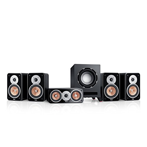 Teufel Ultima 20 Surround 5.1-Set (2017) Schwarz Film Subwoofer Lautsprecher Movie Musik Raumklang Sound Heimkino DTS HD Komplettanlagen 5.1 Soundanlage