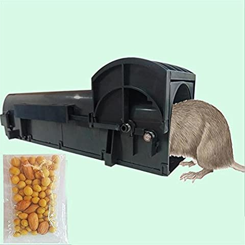 QQYL Mousetrap Cage Pedal mit hoher Empfindlichkeit Sticky Mouse Plate
